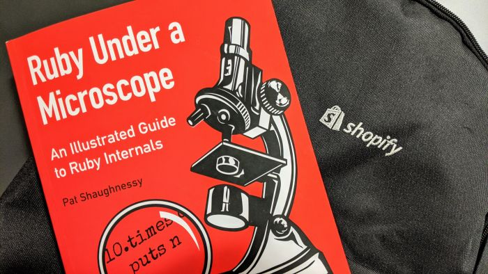 "Front cover of the book ""Ruby Under a Microscope"""